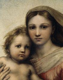 Raffael, Sixtinische Madonna / Ausschn. von AKG  Images