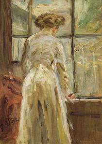 Fritz von Uhde, Frau neben dem Fenster by AKG  Images