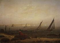 C.D.Friedrich, Frau am Meer / um 1818 von AKG  Images
