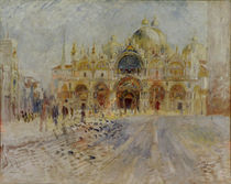 A.Renoir, Markusplatz in Venedig by AKG  Images