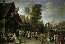 D.Teniers d.J., Bauernkirmes von AKG  Images