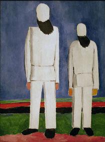 K.Malewitsch, Zwei maennliche Figuren by AKG  Images