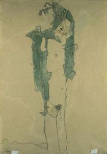 Egon Schiele, Schlafender Knabe von AKG  Images