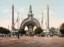 Paris, Weltausst.1900, Porte Monumentale by AKG  Images
