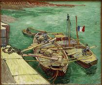 V.v.Gogh, Rhonebarken von AKG  Images