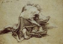 Gruenewald, Kniender Apostel / Zeichnung by AKG  Images