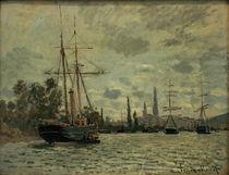 C.Monet, Die Seine bei Rouen von AKG  Images