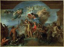 Ludwig XIV. .. geruestet / Gem.v.Le Brun von AKG  Images
