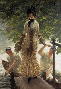 J.Tissot, Auf der Themse von AKG  Images