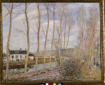 A.Sisley, Le canal du Loing by AKG  Images