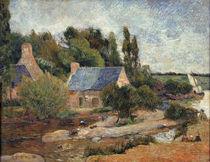 P.Gauguin, Les lavandieres a Pont Aven by AKG  Images