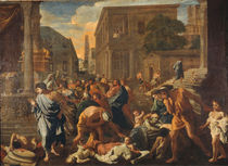 N.Poussin, Die Pest in Ashdod by AKG  Images