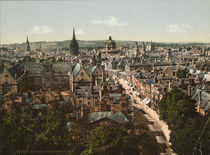 Oxford, High Street / Photochrom von AKG  Images