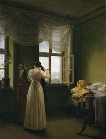Kersting, Vor dem Spiegel  / 1827 by AKG  Images