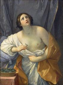 Tod der Kleopatra / Gem.v.Guido Reni von AKG  Images