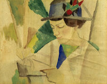 August Macke, Bildnis der Ehefrau by AKG  Images