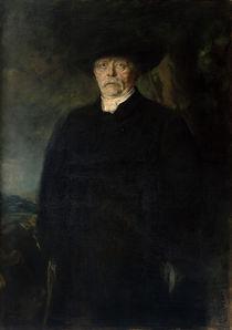 Otto von Bismarck / Gemaelde von Lenbach by AKG  Images