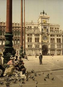 Venedig, Piazzetta, Torre del Orologio von AKG  Images