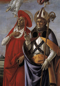 S.Botticelli, Hieronymus u.Eligius by AKG  Images