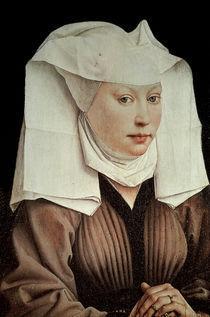 Van der Weyden/ Frau mit Fluegelhaube von AKG  Images