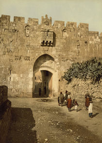 Jerusalem, Loewentor / Photochrom von AKG  Images