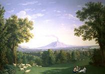 J.P.Hackert, Englischer Garten Caserta von AKG  Images