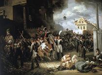 Barriere de Clichy 1814 / Gem.v.Vernet von AKG  Images