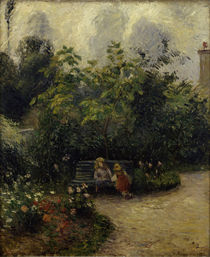 C.Pissarro,Ecke im Garten in L'Hermitage von AKG  Images
