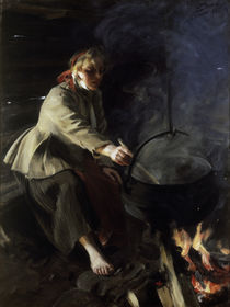 Anders Zorn, Im Herdhaus / 1906 by AKG  Images