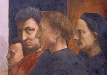 Masaccio, Petrus in Cath., Ausschnitt von AKG  Images