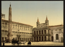Rom, Piazza di S.Giovanni in Laterano von AKG  Images