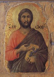 Duccio, Apostel Jakobus d.J. by AKG  Images