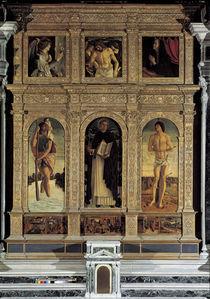 Bellini, Polyptychon des Hl.Vincenzo F. von AKG  Images