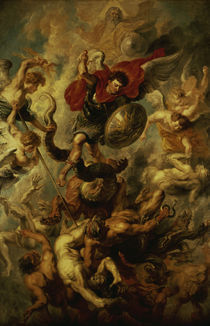 P.P. Rubens, Engelsturz by AKG  Images