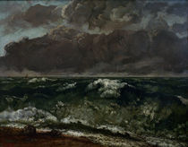 G.Courbet, Die Welle by AKG  Images