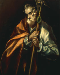 El Greco, Apostel Judas Taddaeus von AKG  Images