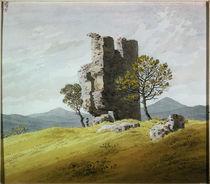 C.D.Friedrich, Turmruine von AKG  Images
