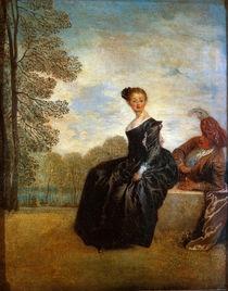 Watteau, Die Schmollende von AKG  Images