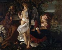 Caravaggio, Ruhe auf der Flucht von AKG  Images
