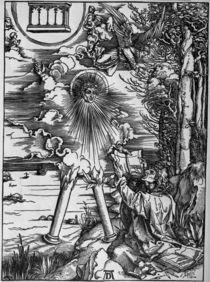 A.Duerer, Johannes verschlingt Buch by AKG  Images