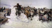 Surikow, Einnahme der Schneestadt von AKG  Images