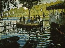 C.Monet, La Grenouillere by AKG  Images