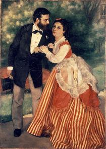 A.Renoir/ Das Ehepaar Sisley/ 1868 by AKG  Images