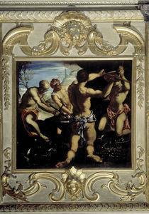 Tintoretto, Schmiede des Vulkan von AKG  Images