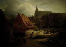 A.Achenbach, Hildesheim von AKG  Images