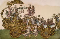 Triumphzug Maximilians I. / Duerer von AKG  Images