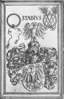 Wappen des Humanisten Stabius von AKG  Images