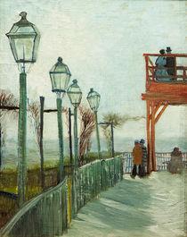 V.van Gogh, Terrasse...Moulin Blute fin von AKG  Images