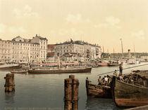 Stettin,Hafen,Dampfschiff by AKG  Images