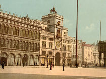 Venedig, Torre del Orologio / Photochrom by AKG  Images